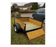 Refurbished car trailer