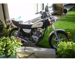 "Lexmoto ""Vixen"" 125cc.as new condition"
