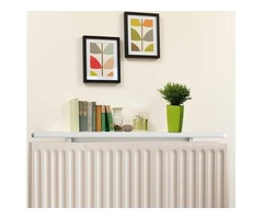 White Radiator Shelf 130cm (L)