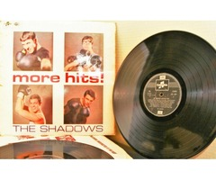 The Shadows : More Hits : Vinyl//LP - Plus Extra Vinyl of The Shadows Hits