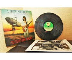 Steve Hillage : Motivation Radio : Vinyl//LP