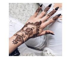 Black Natural Squishy  Herbal Henna Cone Temporary Tattoo Body Art Tattoos