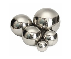 Stainless Steel Mirror Ball Polished Hollow Ball Hardware Accessories 5/8/10/12/15cm