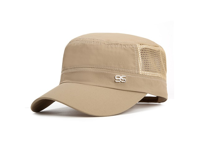 Mens Plain Quick-dry Snapback Flat Baseball Caps Adjustable Outdoor Sport Hip-Hop Hats | FreeAds.info