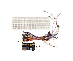 5pcs Geekcreit® MB-102 MB102 Solderless Breadboard + Power Supply + Jumper Cable Dupont Wire Kits Fo