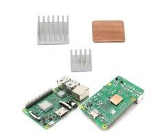 Aluminum Heat Sink Copper Heat Sink For Raspberry Pi 3 Model B / Pi 2 / B+