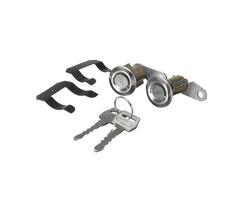 2Pcs Lockcraft Door Lock Cylinder 2 Keys Kit for Ford Truck Van Falcon Mercury