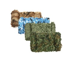 4mx2m Camo Camouflage Net For Car Cover Camping Woodlands Military CS Hunting Shooting Hide