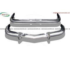 BMW 2800 CS bumper (1968-1975) in stainless steel  | FreeAds.info