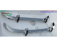 Saab 96 bumper (1965–1970) by stainless steel