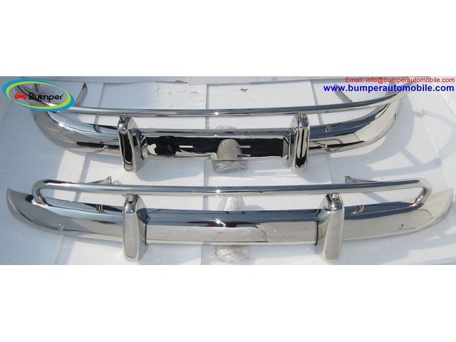 Volvo PV 544 US type bumper (1958-1965) in stainless steel | FreeAds.info
