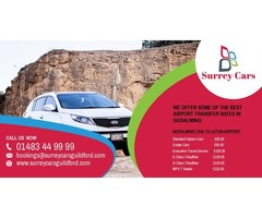 Guildford to Gatwick Airport from £65.00