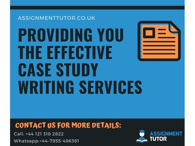 Effective Case study Writing Services in UK  | FreeAds.info