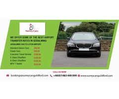 Godalming to Gatwick Airport Estate Cars