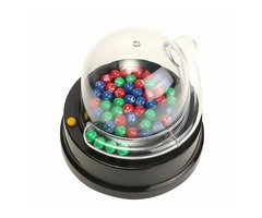 Electric Lucky Number Picking Machine Mini Lottery Bingo Games Shake Lucky Ball