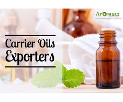 Buy Carrier Oils from Aromaaz International for Prefect Kiss of Health!