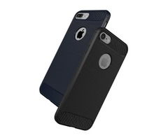 Bakeey Dissipating Heat Carbon Fiber TPU Case For iPhone 7 & 8