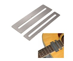 2Pcs Steel FretBoard Finger Board Fret Protector Guards For Guitar Bass
