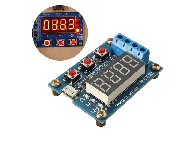 ZB2L3 Battery Capacity Tester External Load Discharge Type Module | FreeAds.info