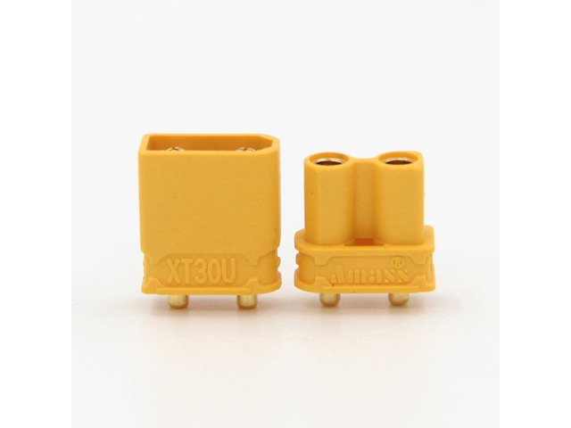 10X Amass XT30UPB XT30 UPB 2mm Plug Male Female Bullet Connectors Plugs For PCB | FreeAds.info