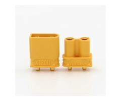 10X Amass XT30UPB XT30 UPB 2mm Plug Male Female Bullet Connectors Plugs For PCB