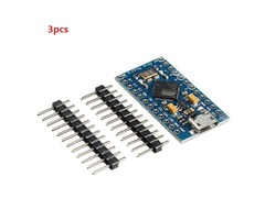 3pcs Pro Micro 5V 16M Mini Leonardo Microcontroller Development Board For Arduino