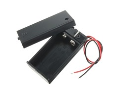 DIY 9V Battery Storage Container Box Case Holder With ON/OFF Toggle Switch