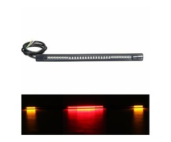 Universal Motorcycle Rear Tail Brake Stop Turn Signal 48 LED SMD Light Strip