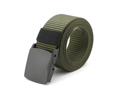 120CM Unisex Men Women Nylon Camouflage Belt Military Tactical Durable Buckle Pants Strip