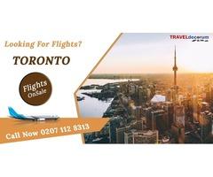 Book London Toronto flights and flight London to Toronto