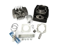 Cylinder Piston Ring Gasket Top End Kit For 1984-1987 Suzuki Quadrunner LT50