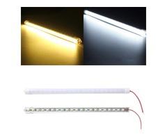 30CM 7.5W DC12V LED Rigid Strip Light 21 SMD 5050 Aluminum Alloy Shell Cabinet Lamp Bar