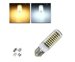 G9/E14/GU10/B22/E27 9W 80 SMD 5733 LED Bulb Corn Light Warm White/White Bulb AC220V