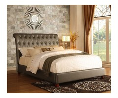 Luxury upholstered bed