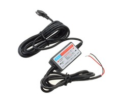 DC 12V-23V to 5V Mini Micro USB Port Wire Cable Car Charger Camera Phone GPS Pad