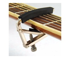 Trigger Tune Quick Change Key Clamp Capo For Acoustic Electric Classic Guitar