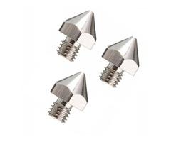 3Pcs 3mm Filament 0.3mm Nozzle MK8 3D Printer Extruder Nozzle