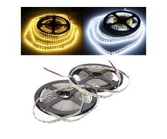 5M 48W DC12V 600 SMD 2835 Non-Waterproof White/Warm White Tape LED Flexible Strip light