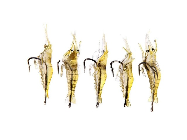 ZANLURE 10pcs 4cm Shrimp Fishing Lure Fishing Soft Prawn Lure Bait | FreeAds.info