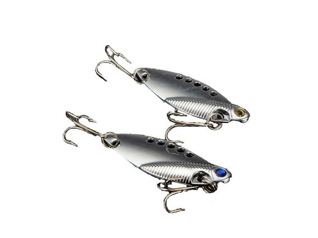 11g 5cm VIB Swimbait Fish Lure Metal Hard Lure Bait with fishing Hook | FreeAds.info