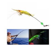 ZANLURE 5pcs 7cm 7g Noctilucent Soft Prawn Shrimp Fishing Lure Bait | FreeAds.info