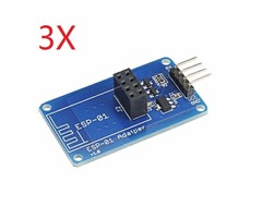 3Pcs Geekcreit® ESP8266 Serial Wi-Fi Wireless ESP-01 Adapter Module 3.3V 5V Compatible For Arduino
