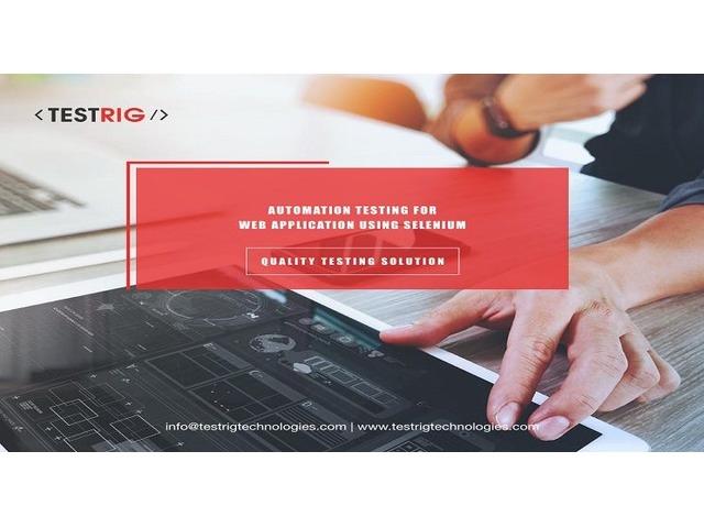 Selenium Automation Testing Services UK-Testrig Technologies   FreeAds.info