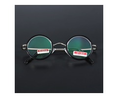 Retro Round Light Weight Magnifying Reading Glasses Fatigue Relieve Strength 1.5 2.0 2.5 3.0