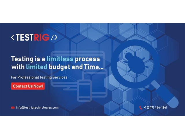 Software Testing Company in UK-Testrig Technologies   FreeAds.info