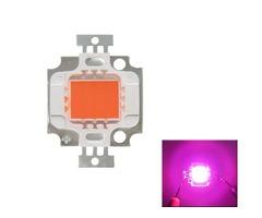 Full Spectrum 10W Pink LED Plant Grow Light Lamp Chip for Garden 9-12V
