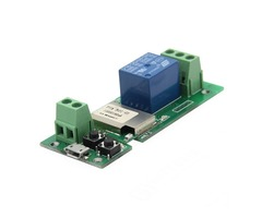 Geekcreit® USB 5V DIY 1 Channel Jog Inching Self-locking WIFI Wireless Smart Home Switch Socket APP