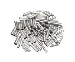 100Pcs Butt Splice Wire Connectors Copper Bare Tinned Crimp Terminals 22-10AWG