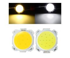 7W DIY LED COB Chip High Power Bead Light Lamp Bulb-white/Warmwhite DC20-24V