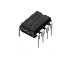 10 Pcs LM358P LM358N LM358 DIP-8 Chip IC Dual Operational Amplifier